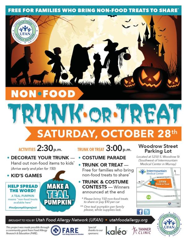 poster- tunk or treat