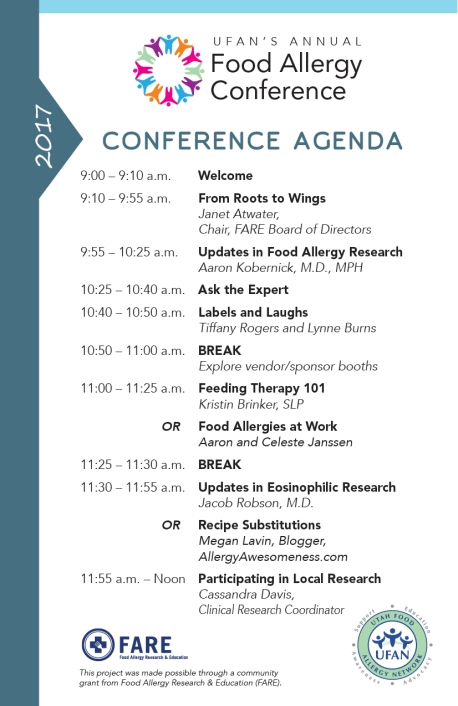 Our Annual Food Allergy Conference Is Right Around The Corner