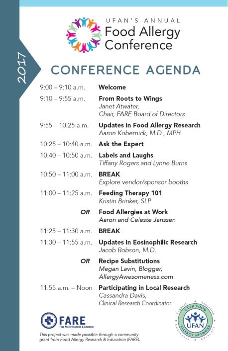 UFAN conf agenda v4 0217